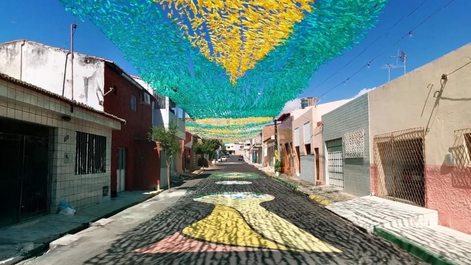 Brasile - strade dipinte