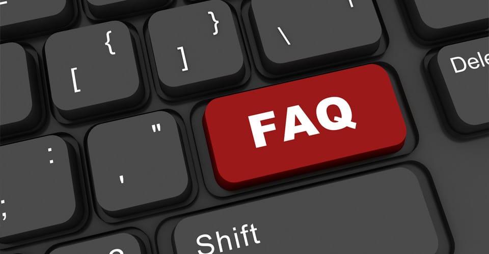 migliorare di un sito web  con le faq